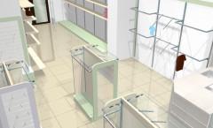 Визуализация 2 детского магазина на основе коллекции РОЗОВАЯ ФАНТАЗИЯ