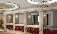 Визуализация ювелирного магазина Октябрь