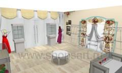 Визуализация детского магазина 2 Королевская вышивка ВИНТАЖ