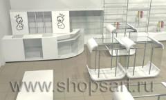 Визуализация магазина одежды на основе коллекции