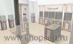 Визуализация ювелирного магазина Benardi Москва