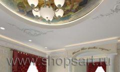 Дизайн интерьера ювелирного магазина Октябрь КОРИЧНЕВАЯ КЛАССИКА Дизайн 11