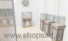 Дизайн интерьера ювелирного магазина Benardi коллекция ЭЛИТ ГОЛД Дизайн 5