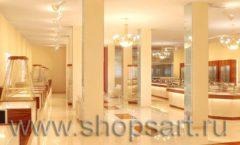 Дизайн интерьера 2 ювелирного магазина Золото Якутии коллекция КОФЕ С МОЛОКОМ Дизайн 07