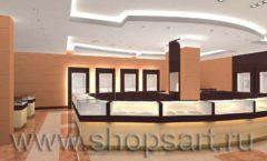 Дизайн интерьера ювелирного магазина коллекция КОФЕ С МОЛОКОМ Дизайн 2
