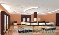 Дизайн интерьера ювелирного магазина коллекция КОФЕ С МОЛОКОМ Дизайн 3