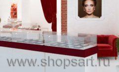 Дизайн интерьера ювелирного магазина Кремлев Серпухов КРЕМЛЕВСКОЕ ЗОЛОТО Дизайн 6