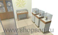 Дизайн интерьера ювелирного магазина Benardi коллекция СОВРЕМЕННЫЙ СТИЛЬ Дизайн 3