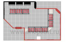 Дизайн интерьера ювелирного магазина Сапфир коллекция КОРАЛЛ Дизайн 22