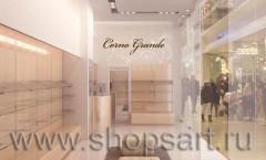 Визуализация магазина обуви