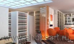 Визуализации магазинов вина
