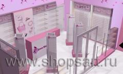 Визуализация магазина бижутерии