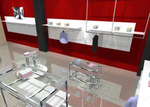 Торговая мебель для магазинов одежды коллекции МИНИМАЛИЗМ