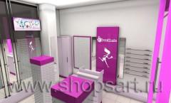 Визуализация ювелирного магазина на основе коллекции De Luxe