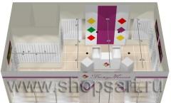 Визуализация ювелирного магазина 2