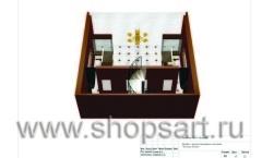 Дизайн-проект ювелирного магазина Золотая лилия