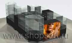 Визуализация магазина на основе коллекции Розовый букет