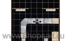 Дизайн интерьера ювелирного магазина Нефрит коллекция ЭЛИТ ГОЛД Дизайн 6