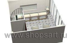 Дизайн интерьера ювелирного магазина Золотая Лилия коллекция ЭЛИТ ГОЛД Дизайн 11