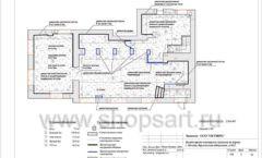 Дизайн проект ювелирного магазина Октябрь Москва Фрунзенская набережная Лист 05