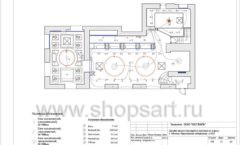 Дизайн проект ювелирного магазина Октябрь Москва Фрунзенская набережная Лист 11