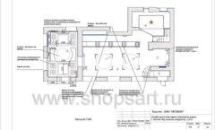 Дизайн проект ювелирного магазина Октябрь Москва Фрунзенская набережная Лист 13