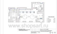 Дизайн проект ювелирного магазина Октябрь Москва Фрунзенская набережная Лист 14