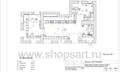 Дизайн проект ювелирного магазина Октябрь Москва Фрунзенская набережная Лист 15