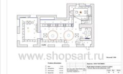 Дизайн проект ювелирного магазина Октябрь Москва Фрунзенская набережная Лист 16