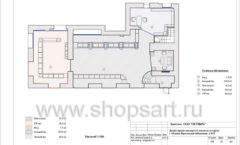 Дизайн проект ювелирного магазина Октябрь Москва Фрунзенская набережная Лист 18