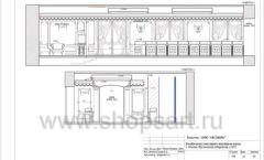 Дизайн проект ювелирного магазина Октябрь Москва Фрунзенская набережная Лист 23