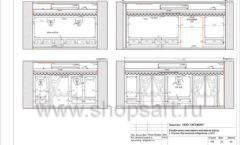 Дизайн проект ювелирного магазина Октябрь Москва Фрунзенская набережная Лист 24