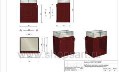 Дизайн проект ювелирного магазина Октябрь Москва Фрунзенская набережная Лист 28