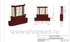 Дизайн проект ювелирного магазина Октябрь Москва Фрунзенская набережная Лист 30