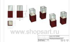 Дизайн проект ювелирного магазина Октябрь Москва Фрунзенская набережная Лист 31