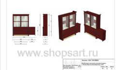 Дизайн проект ювелирного магазина Октябрь Москва Фрунзенская набережная Лист 38