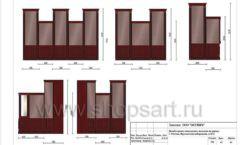 Дизайн проект ювелирного магазина Октябрь Москва Фрунзенская набережная Лист 43
