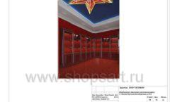 Дизайн проект ювелирного магазина Октябрь Москва Фрунзенская набережная Лист 58