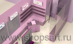 Визуализация ювелирного магазина 3