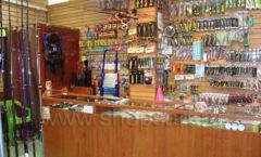 Торговое оборудование ОХОТА И РЫБАЛКА рыболовного магазина Правильные снасти Фото 01