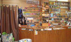 Торговое оборудование ОХОТА И РЫБАЛКА рыболовного магазина Правильные снасти Фото 02