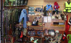 Торговое оборудование ОХОТА И РЫБАЛКА рыболовного магазина Правильные снасти Фото 04
