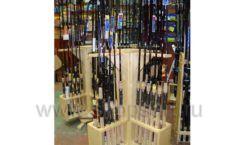 Торговое оборудование ОХОТА И РЫБАЛКА рыболовного магазина Правильные снасти Фото 06