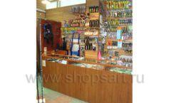 Торговое оборудование ОХОТА И РЫБАЛКА рыболовного магазина Правильные снасти Фото 07