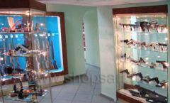 Торговое оборудование РОНДО оружейного салона На Люсиновской Фото 04