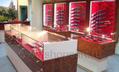 Торговое оборудование РОНДО оружейного салона На Люсиновской Фото 11