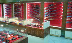 Торговое оборудование РОНДО оружейного салона На Люсиновской Фото 12