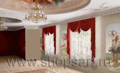 Визуализация дизайн проекта ювелирного магазина Октябрь Фрунзенская набережная Дизайн 03