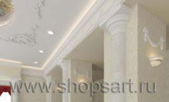 Визуализация дизайн проекта ювелирного магазина Октябрь Фрунзенская набережная Дизайн 09