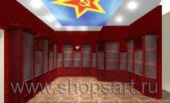 Визуализация дизайн проекта ювелирного магазина Октябрь Фрунзенская набережная Дизайн 13